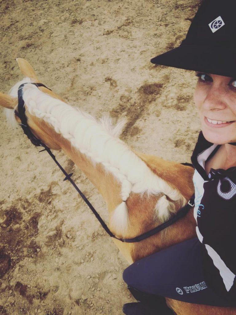 Ontspannen paard