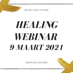 healing paard webinar